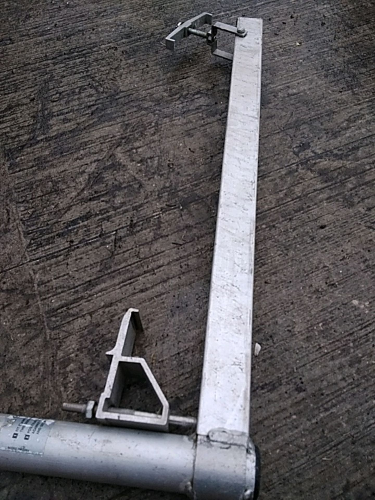 (33) Youngman Superpost Handrail Post for use with Superstars - Image 3 of 4