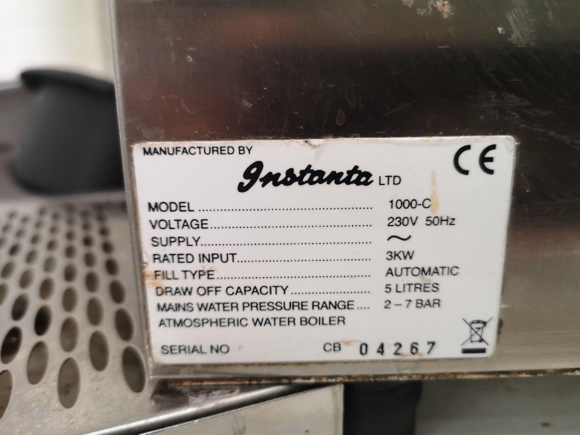 Instanta 1000-C CTS5 SureFlow Compact Countertop 5Ltr Water Boiler - Image 4 of 4