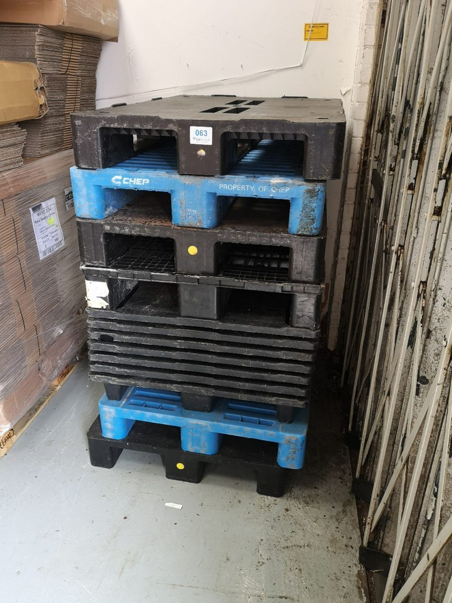 (13) Platic Pallets - Image 3 of 3
