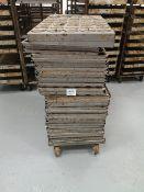 (40) Bakery Mould Racks/Trays