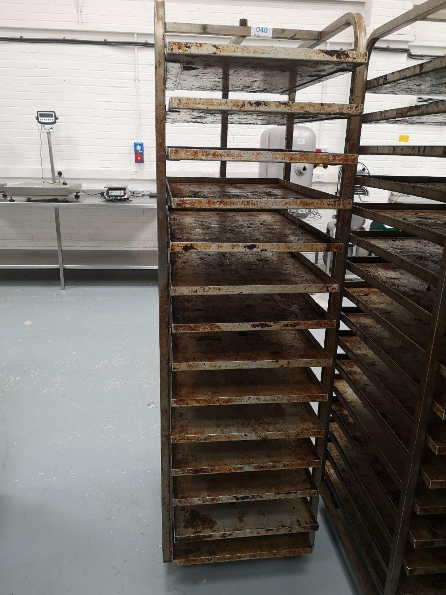 Fourteen Slot Bakery Rack/Tray Trolley - Image 2 of 3