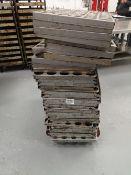 (32) Bakery Mould Racks/Trays