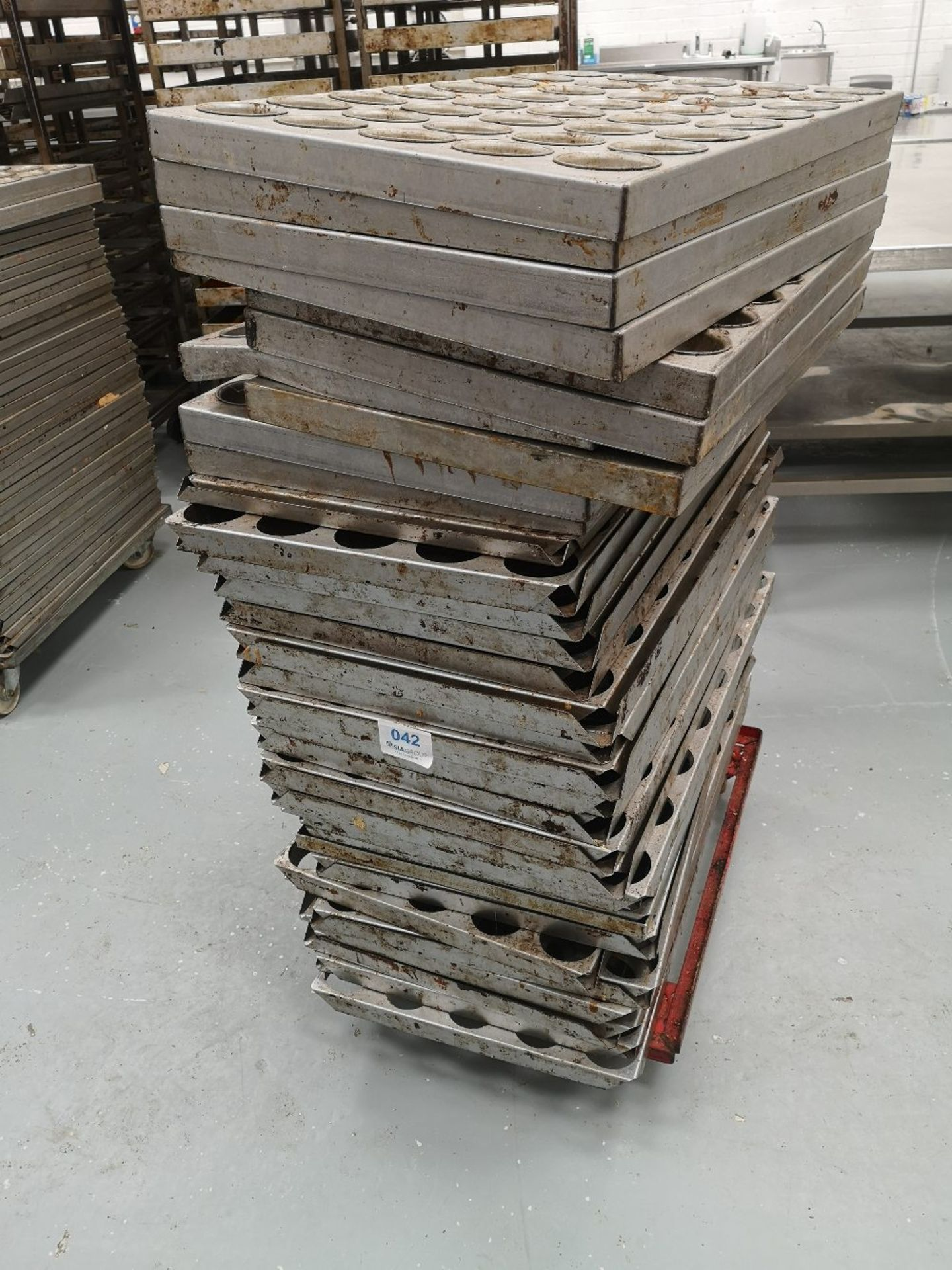 (32) Bakery Mould Racks/Trays - Image 2 of 3