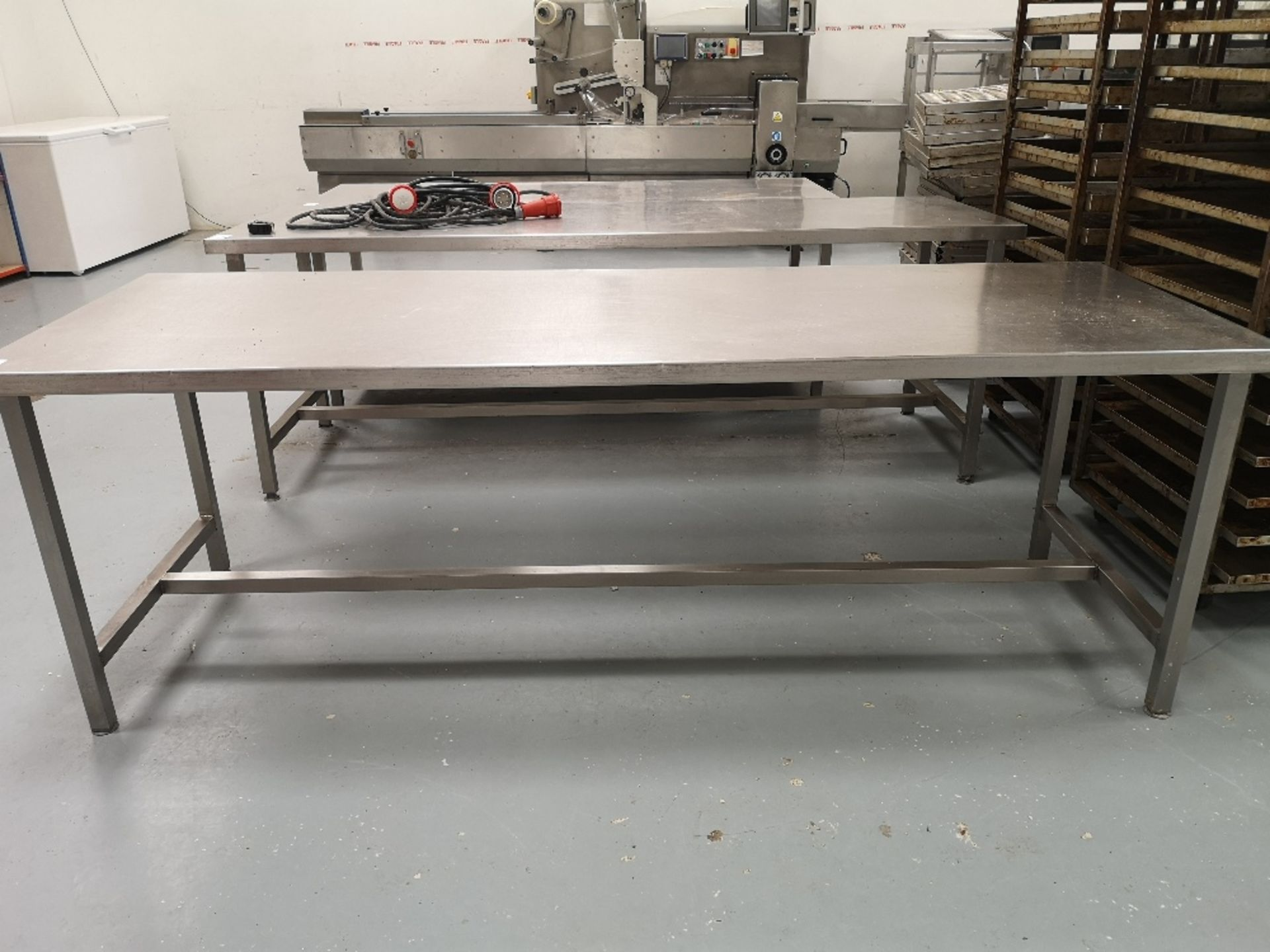 Stainless Steel Preparation Table - Image 2 of 3