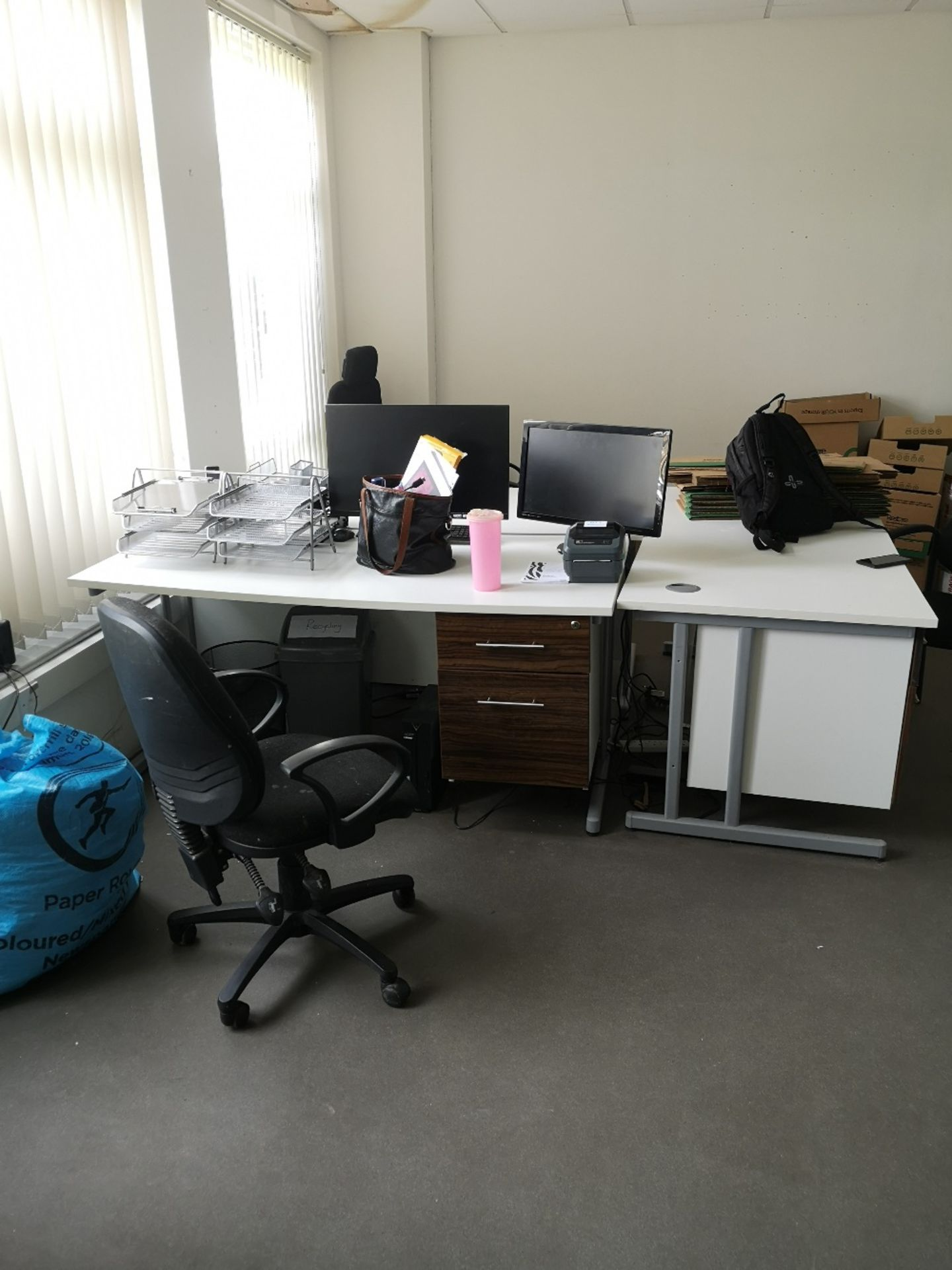 Office Furniture Contents of Room