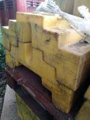 (80) Temporary Fencing Brace Block 50kg