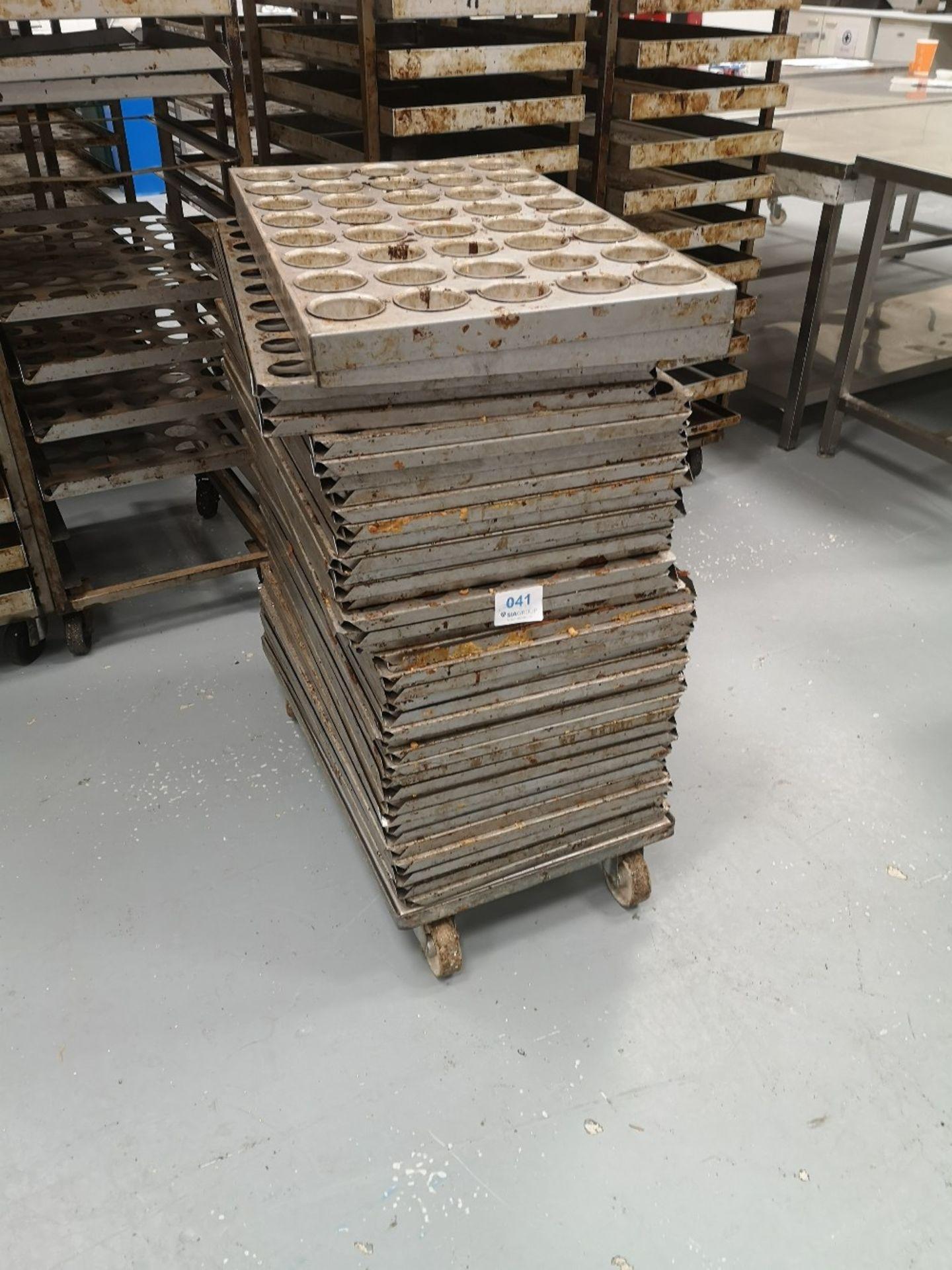 (40) Bakery Mould Racks/Trays - Image 3 of 3