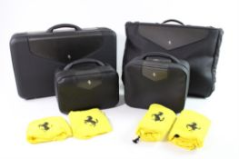2005-06 Ferrari 575 Superamerica Complete 4-Piece Schedoni Luggage Set
