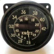 Airspeed indicator from a WWII Supermarine Spitfire Mk 9