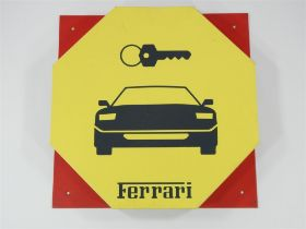 1990s Ferrari F40 Large Dealer Sign