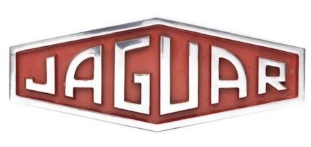 Polished and Painted Cast Aluminium 1961 - 1963 Jaguar Emblem