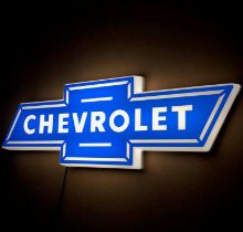 Chevrolet Illuminated Sign
