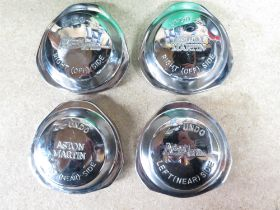 Two Pairs Aston Martin 'Knock Off' Wheel Nuts Decoratively Engraved