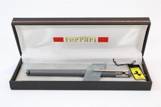 1980s Ferrari Formula Cartier Grey Fountain Pen Set (308, 328, Dino)