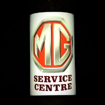 MG Illuminated Sign