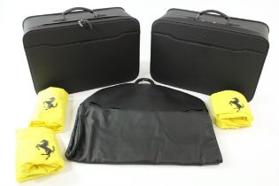 2008 - 2017 Ferrari California 3-Piece Schedoni Luggage Set