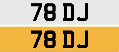 Registration Number 78 DJ