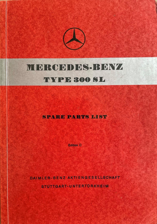 Very Rare Mercedes-Benz 300 SL Manuals etc - Image 4 of 7