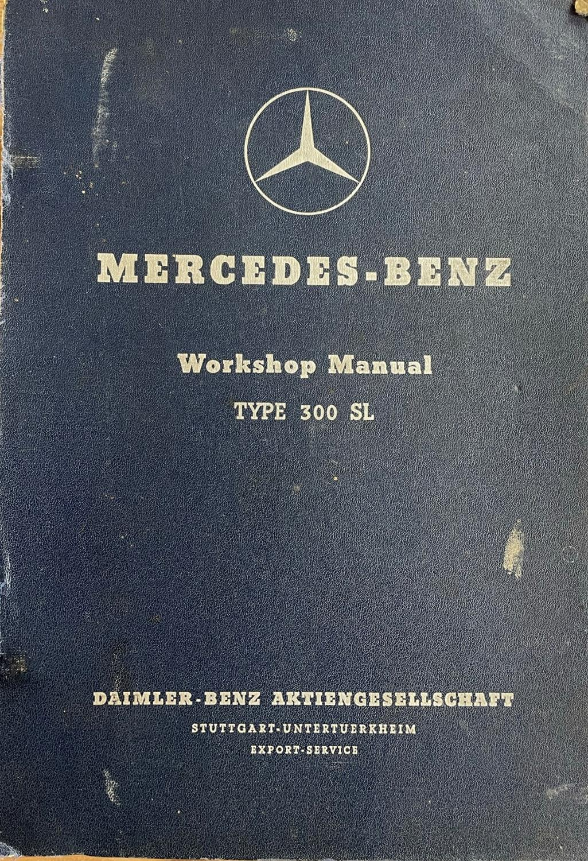 Very Rare Mercedes-Benz 300 SL Manuals etc - Image 2 of 7