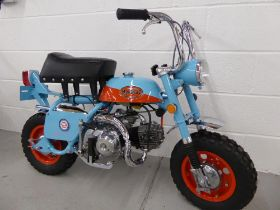 1969 Honda Z50A Gulf Racing Tribute Monkey Bike
