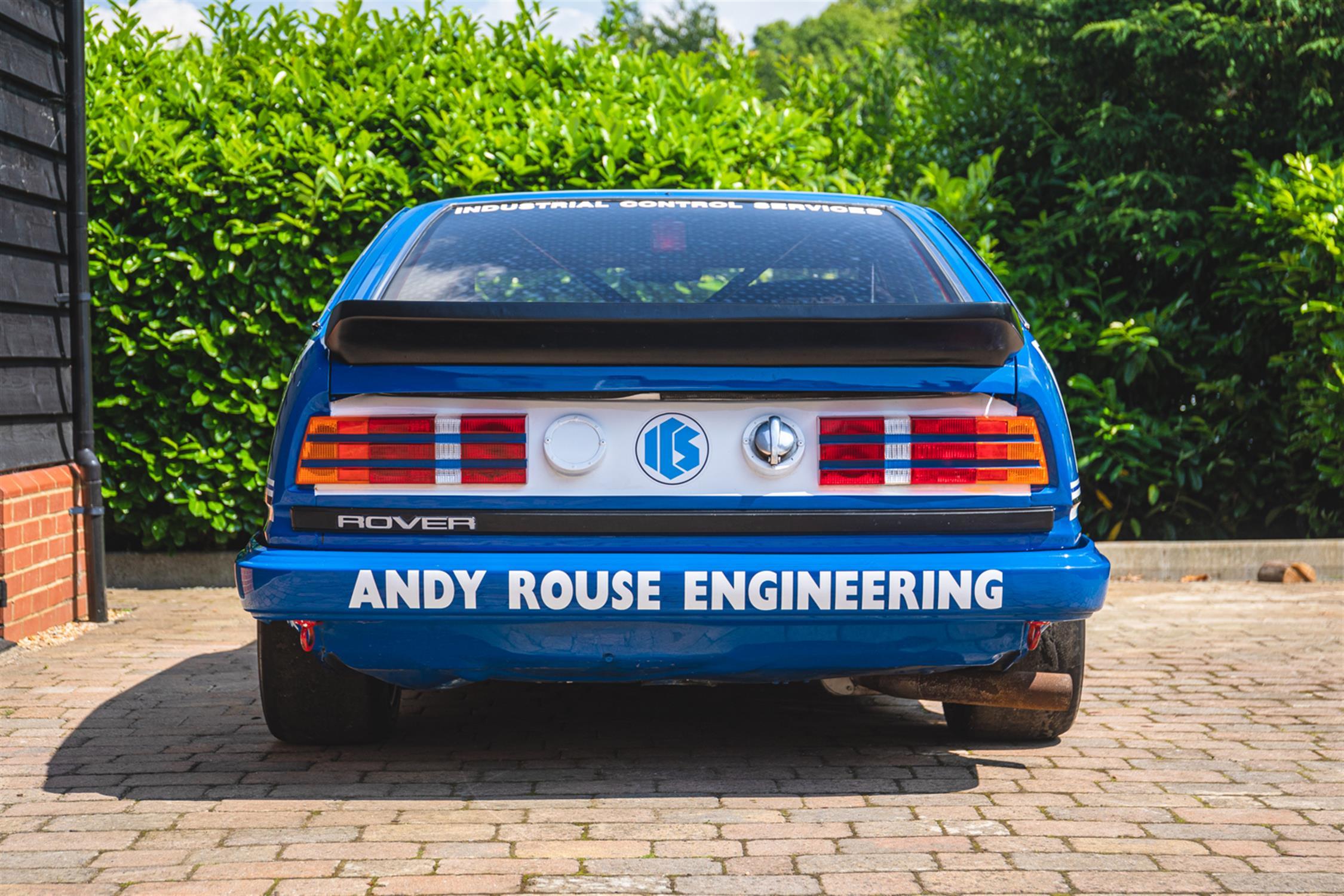 BTCC Championship-Winning 'Group A' ICS Rover Vitesse - Ex-Andy Rouse - Image 4 of 12