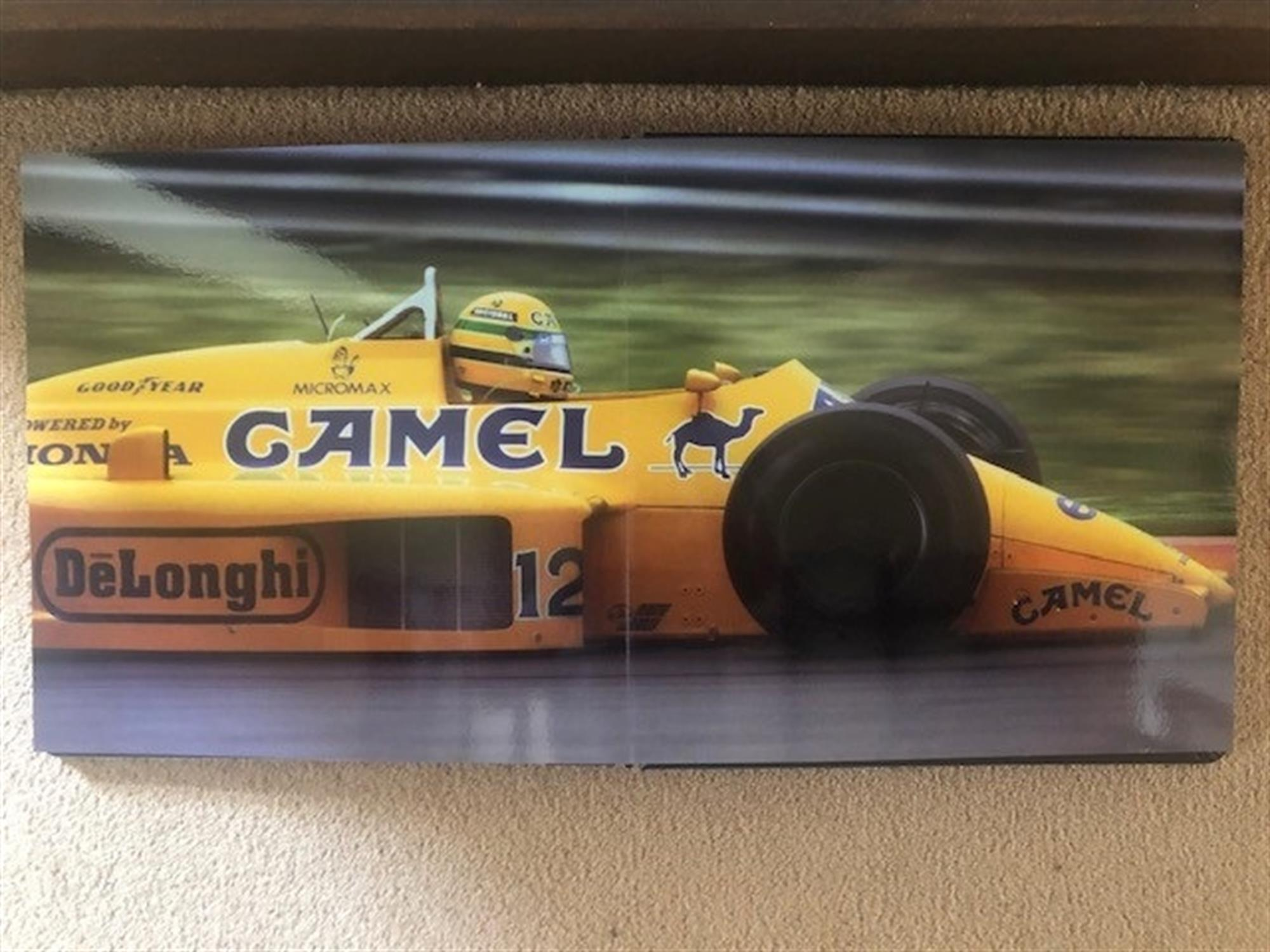 Coffee Table Publication Featuring Ayrton Senna - Image 5 of 6