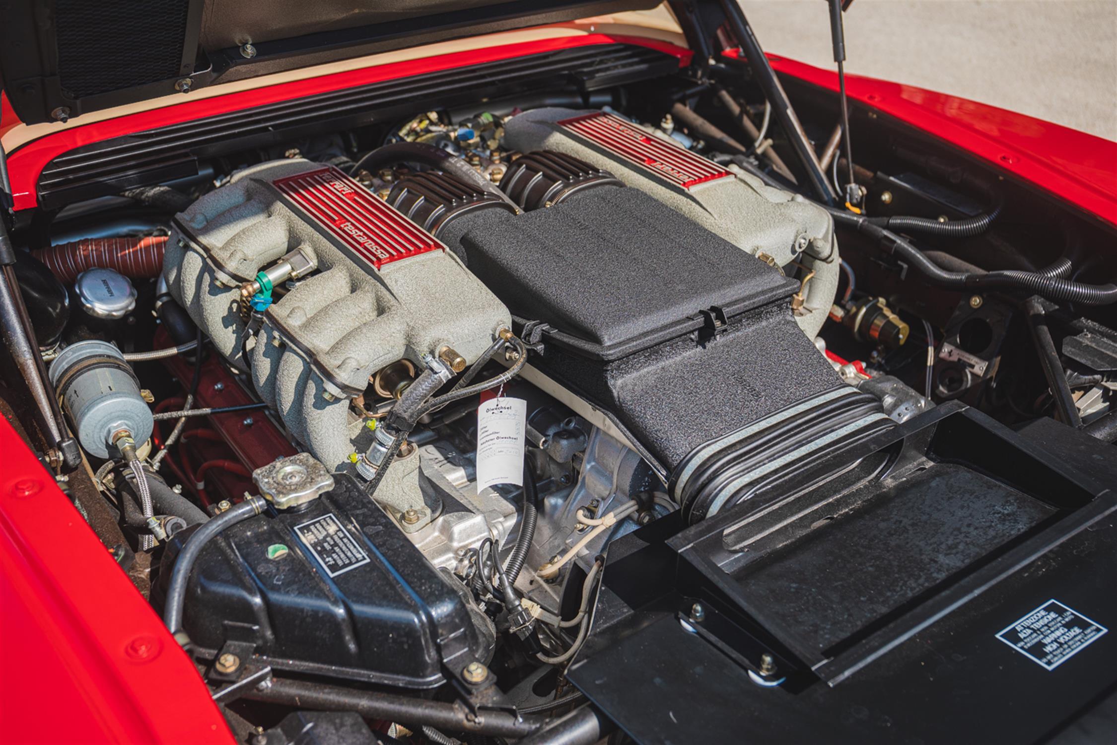 1991 Ferrari Testarossa - 1,829 Kilometres From New & Classiche'd - Image 12 of 15