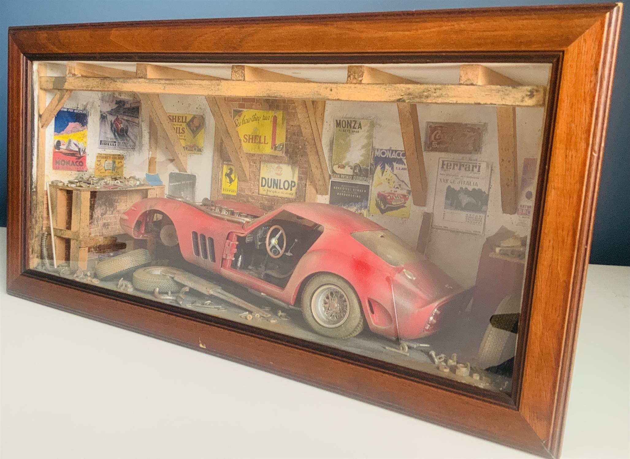 Ferrari 250 GTO Diorama by Classic Car Art - Image 2 of 5