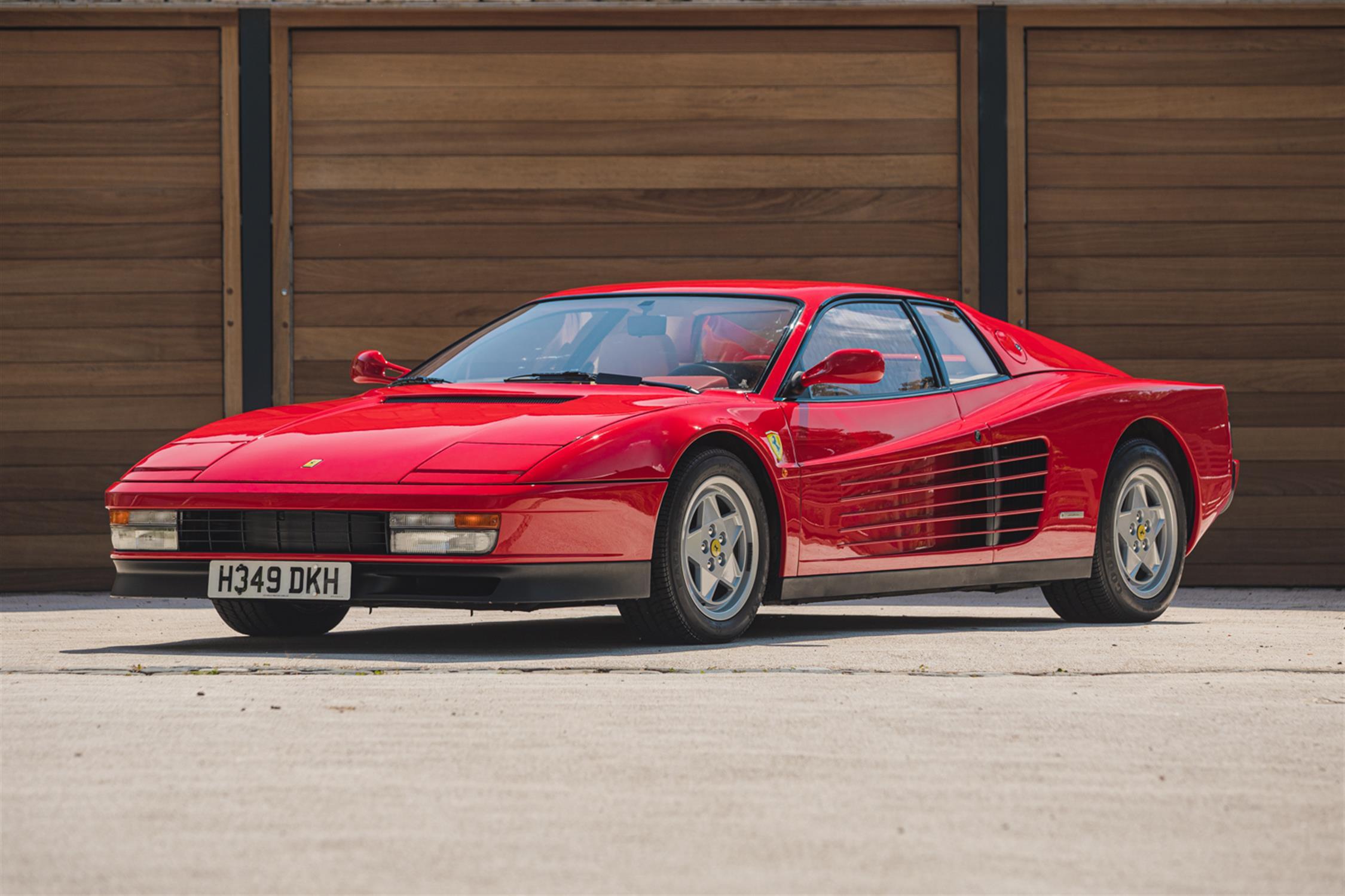 1991 Ferrari Testarossa - 1,829 Kilometres From New & Classiche'd - Image 6 of 15