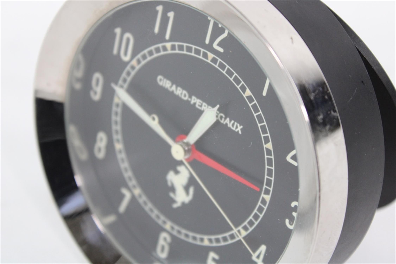 Ferrari Girard Perregaux Quartz Desk Clock Swiss Made 250 308 246 355 - Image 3 of 8