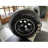 Ayton Senna Toleman F1 Rear Wheel