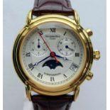 A Genuine Mercedes-Benz Classic Moon Face Chronograph