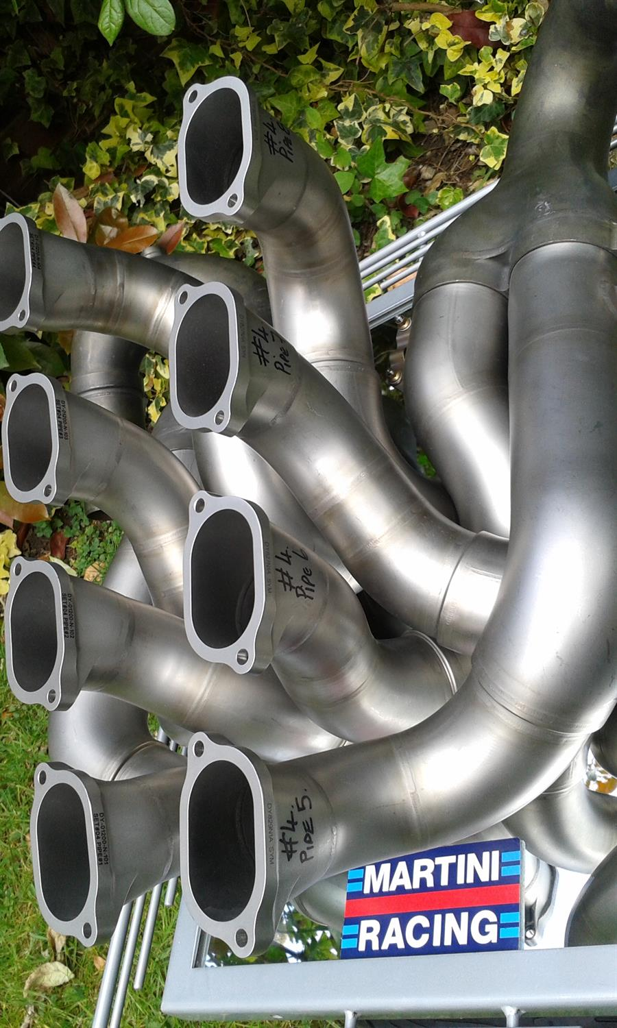 Williams Martini Racing - Pair of Race Used F1 Exhaust Pipes - Image 3 of 3