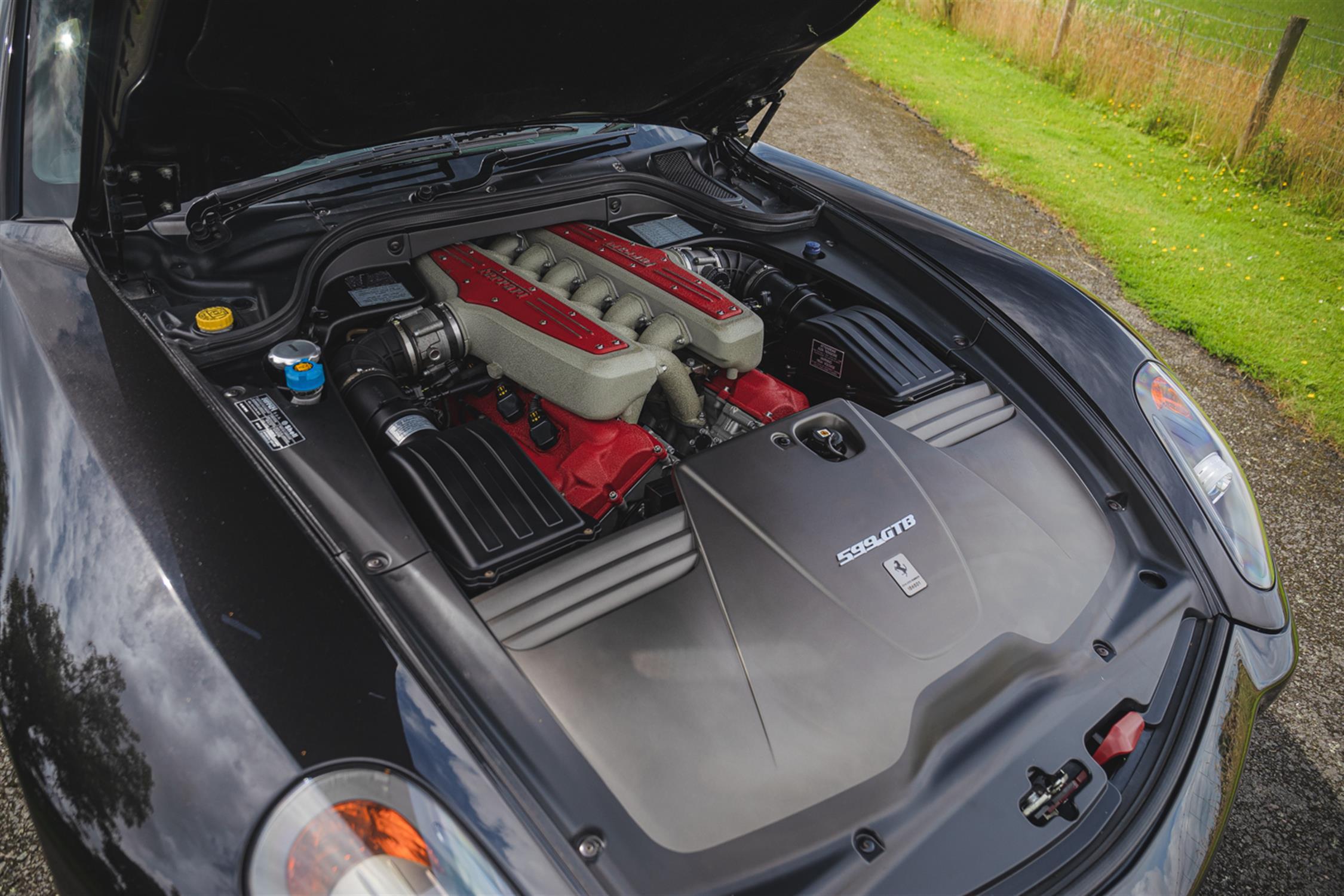2007 Ferrari 599 GTB Fiorano F1 - Image 10 of 11