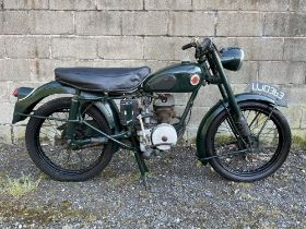 1954 Francis Barnett Falcon 67