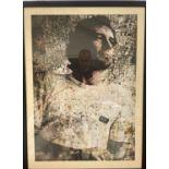 Ayrton Senna Collage Framed Print