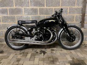c.1948 Vincent Black Lightning Replica