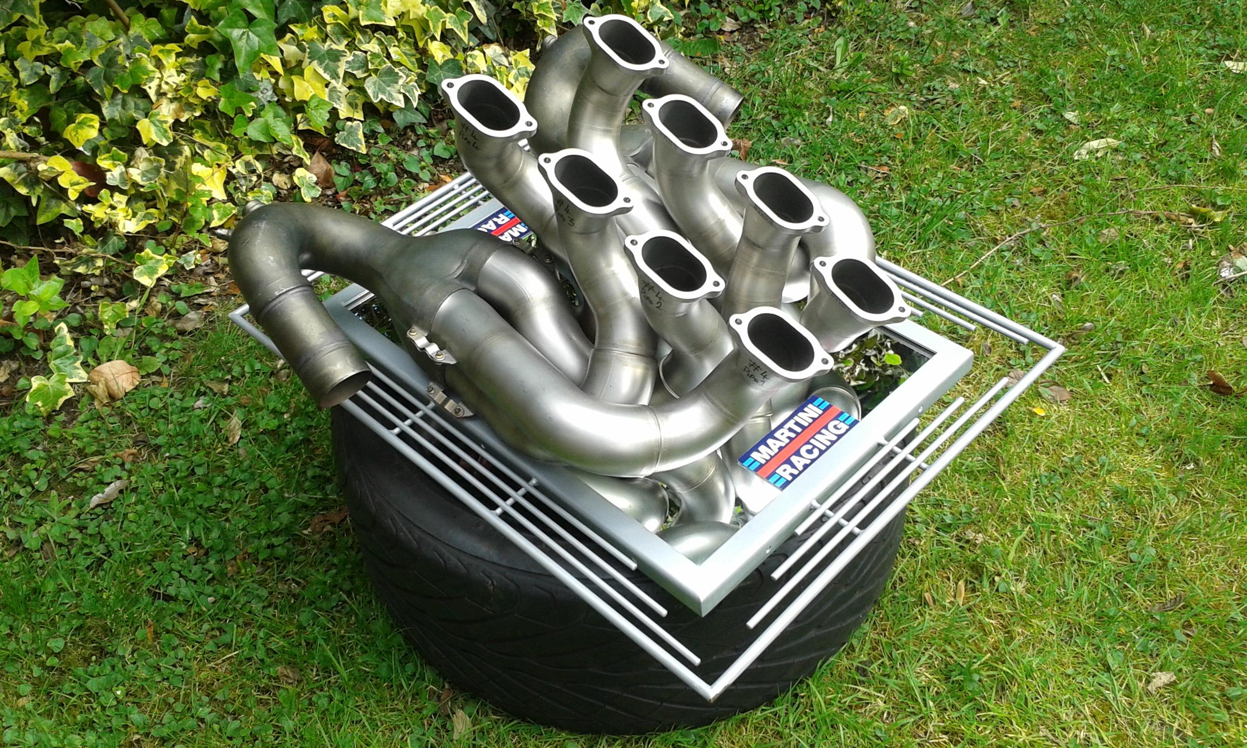 Williams Martini Racing - Pair of Race Used F1 Exhaust Pipes - Image 2 of 3