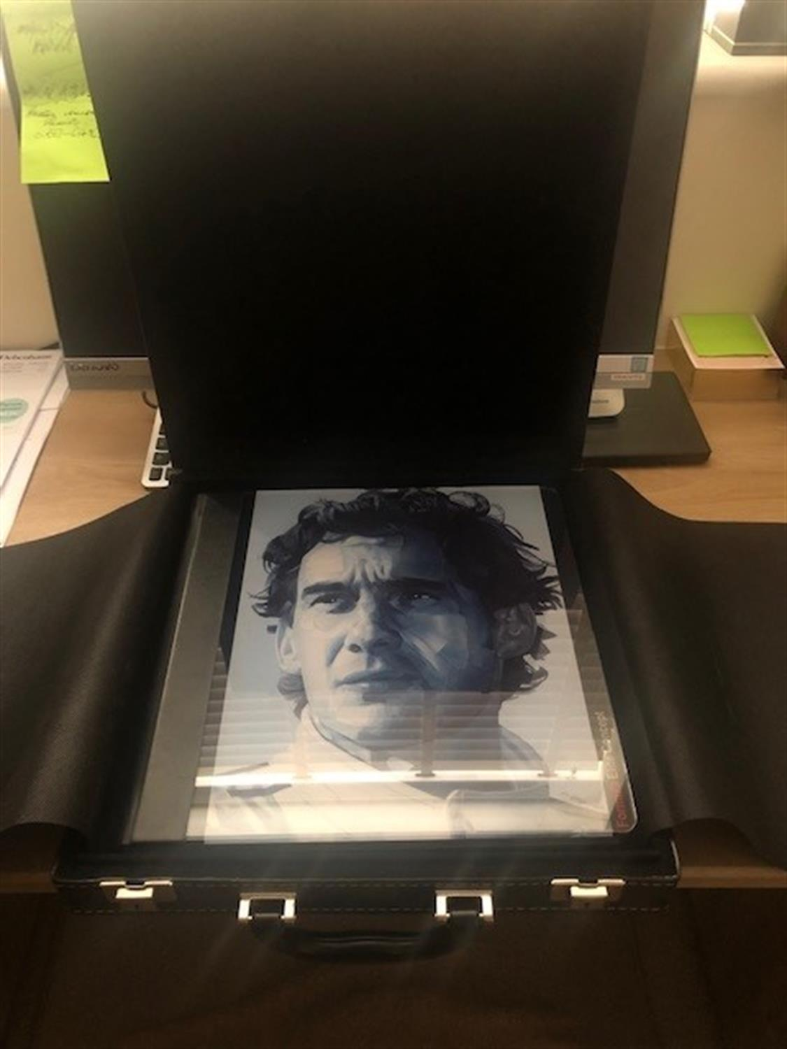 Coffee Table Publication Featuring Ayrton Senna - Image 4 of 6