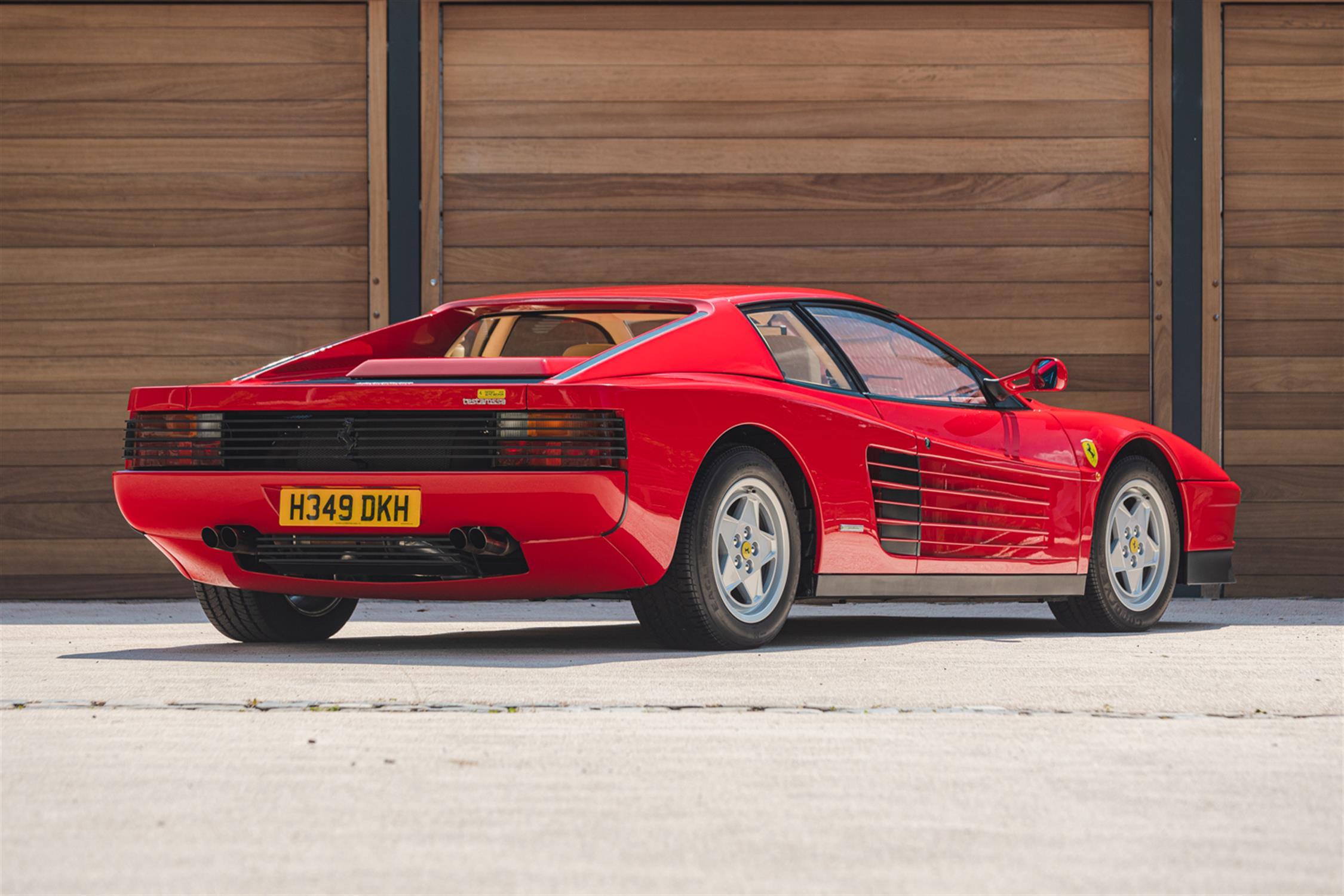 1991 Ferrari Testarossa - 1,829 Kilometres From New & Classiche'd - Image 10 of 15