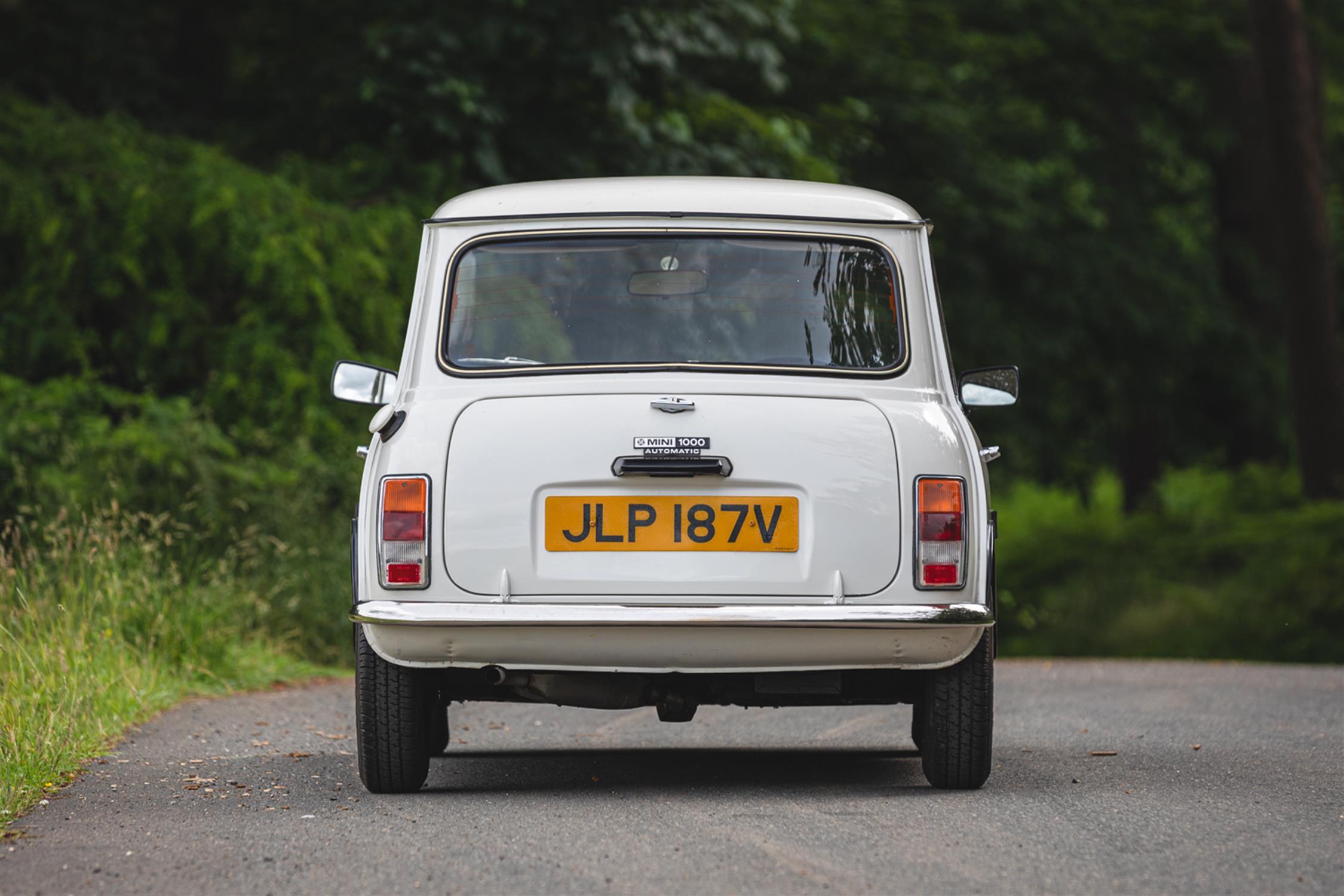 1979 Austin Mini 1000 (Auto) - 2,699 Miles - Image 7 of 10