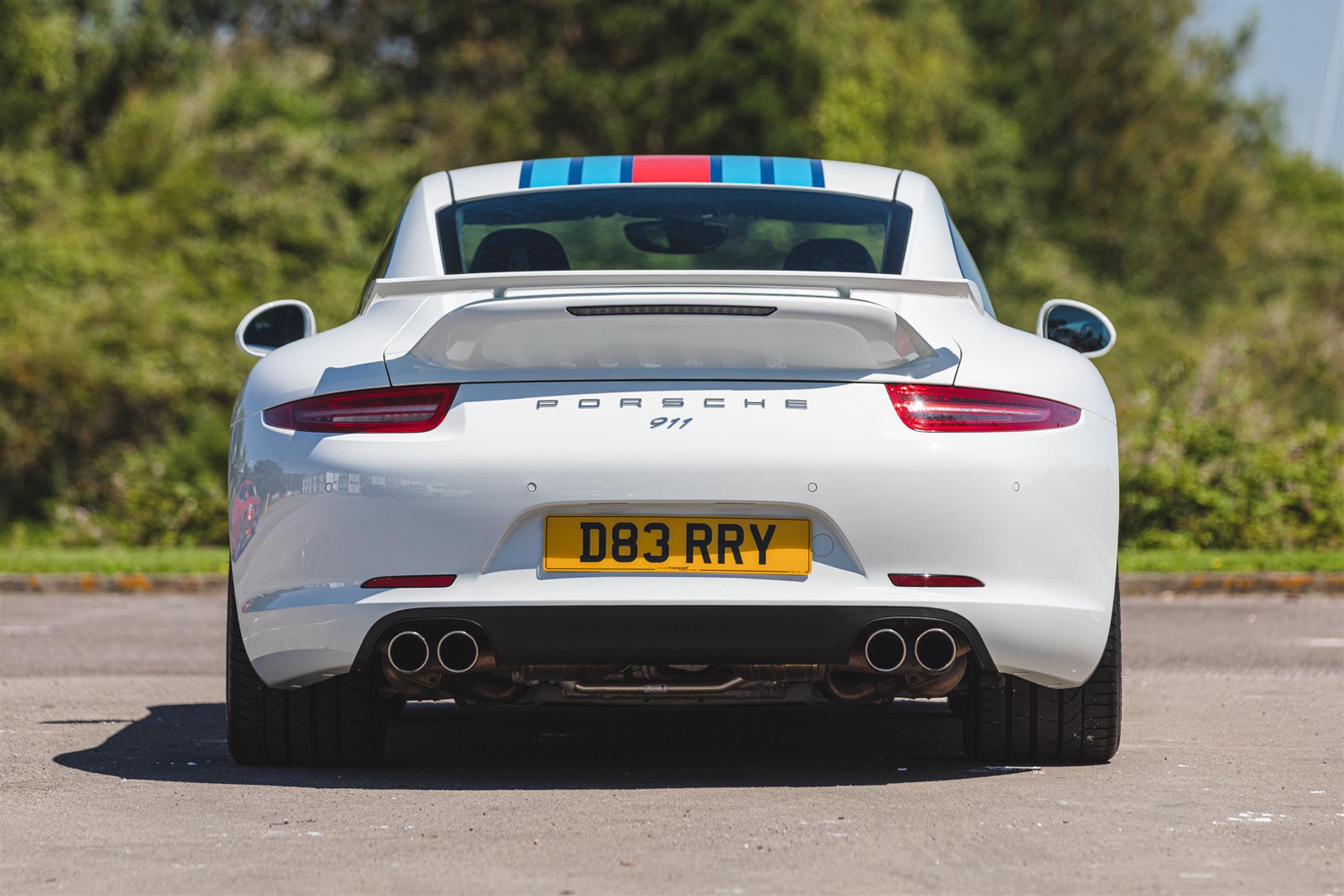 2014 Porsche 911 (991) 3.8 Martini Racing Edition (RHD) - Image 4 of 10