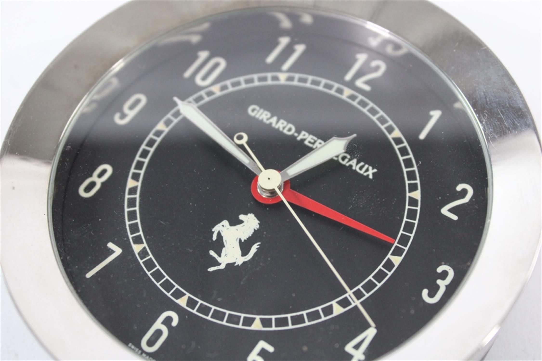 Ferrari Girard Perregaux Quartz Desk Clock Swiss Made 250 308 246 355 - Image 8 of 8