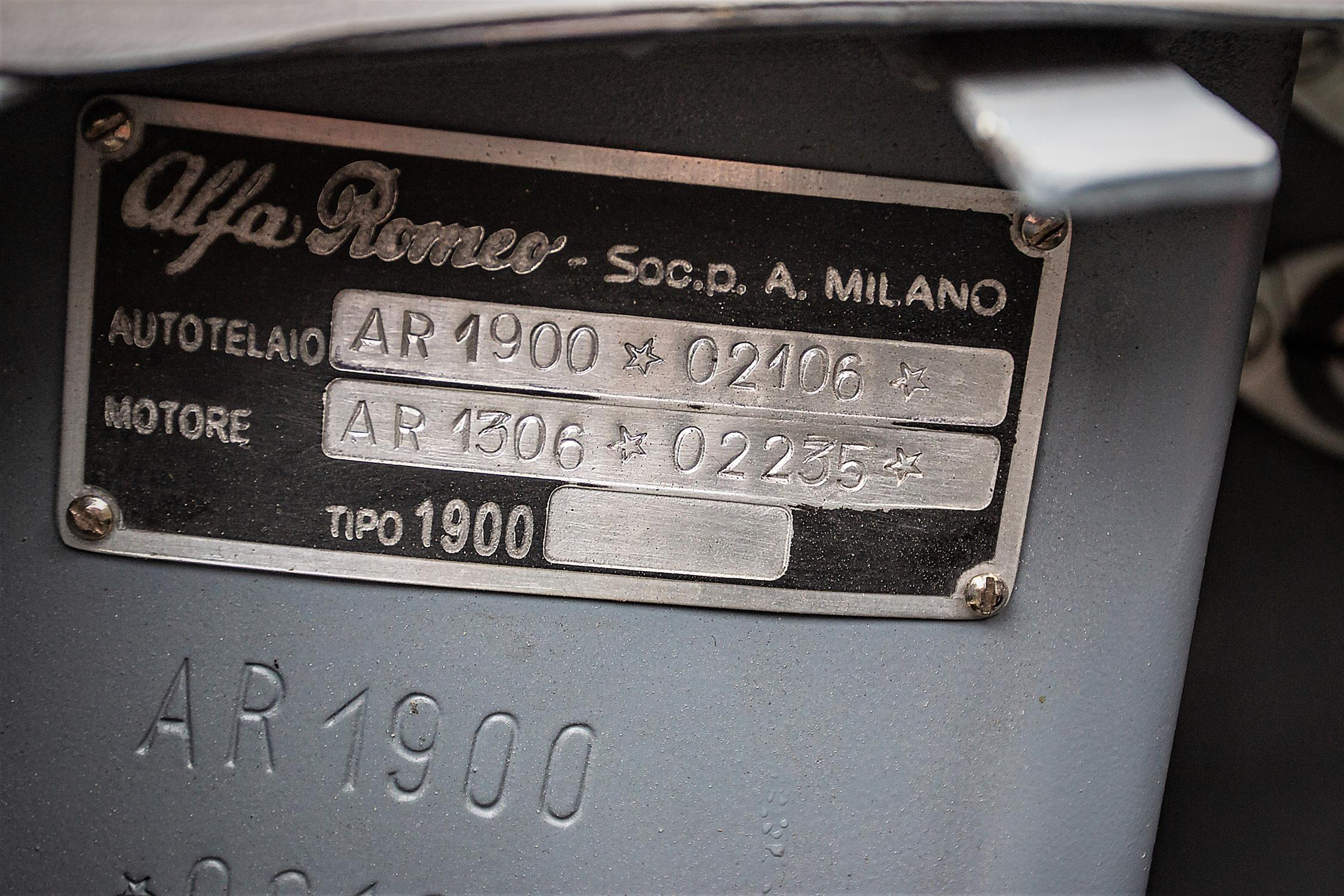 1952 Alfa 1900 ATL Barchetta - Image 9 of 10