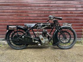 """1925 Sunbeam Model 5 """"Light Solo"""""""