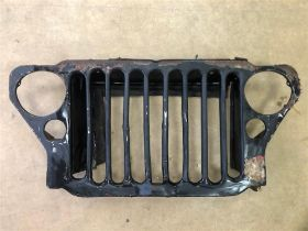 A WWII 'Willys Jeep' Front Grille