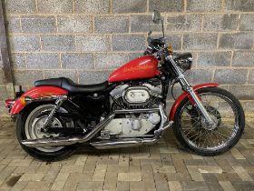 1998 Harley Davidson XL53 Sportster Custom