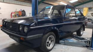 1979 Ford Escort RS2000 MkII **Regretfully withdrawn - Will be reoffered in our next cca sale**