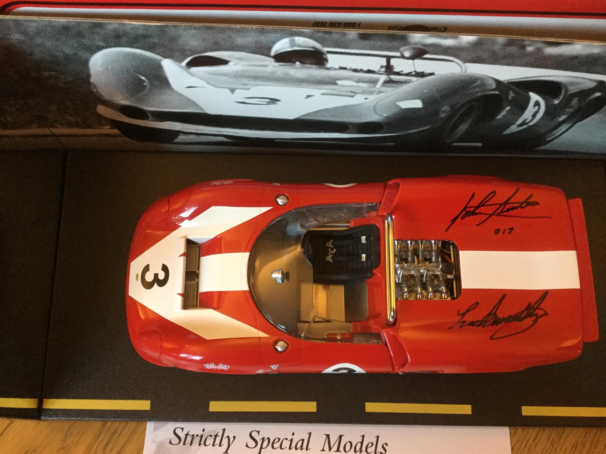 Superb John Surtees Tribute Collection of Models and Memorabilia - Image 2 of 8