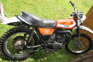 1976 Yamaha DT250 Enduro